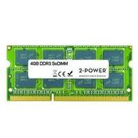 2-Power RAM-geheugen: 4GB MultiSpeed 1066/1333/1600 MHz SoDIMM - Groen
