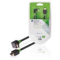 König HDMI kabel: KNV34210E30 - Antraciet