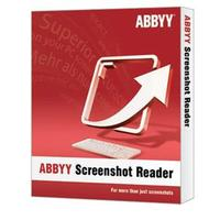 ABBYY OCR software: Screenshot Reader