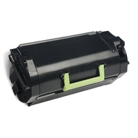 Lexmark cartridge: 622H R - Zwart