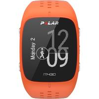 Polar sporthorloge: M430 - Zwart, Oranje
