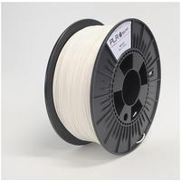 Builder 3D printing material: PLA, White, 1.75mm, 1kg - Wit