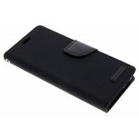 Canvas Diary Booktype Samsung Galaxy S9 - Zwart / Black Mobile phone case