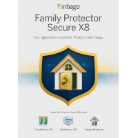 Intego product: Mac Family Protector Secure X8 - Engels / Frans / 1 Gebruiker / 1 Jaar / Mac