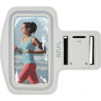 Azuri mobile phone case: Sport armband large - wit