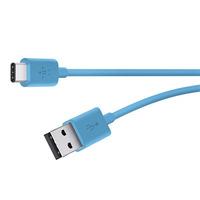 Belkin Belkin MIXIT USB-C op USB-A 1,8 m blauw F2CU032bt06-BLU (F2CU032BT06-BLU)