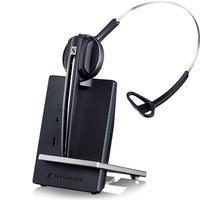 Sennheiser headset: D 10 USB - Zwart, Zilver