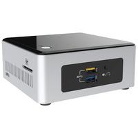 Intel NUC Kit NUC5CPYH Barebone - Zwart, Zilver