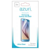Azuri screen protector: Duo screen protector voor Samsung Galaxy S6 - Transparant