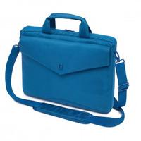 """Dicota laptoptas: Code Slim Case 15"""" - Blauw"""