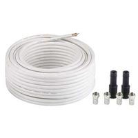 "Hama SAT Connection Kit ""Digital"" Coax kabel - Wit"
