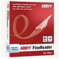 ABBYY OCR software: FineReader Express, ESD, Mac