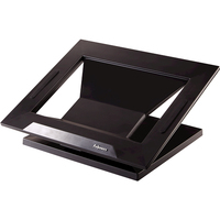 Fellowes notebooksteun: Designer Suites Laptopstandaard - Zwart