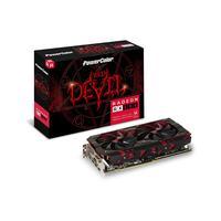 PowerColor videokaart: Red Devil Red Devil Radeon RX 580, 8 GB GDDR5, 256-bit, 1380 MHz, DL DVI-D, HDMI, 3x .....