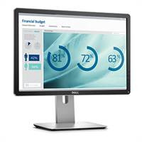 DELL monitor: P2016 - Zwart