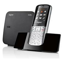 Gigaset dect telefoon: SL400A - Zwart, Metallic