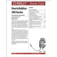 O'Reilly boek: Media How to Build an SMS Service - eBook (PDF)