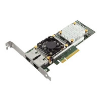 DELL Broadcom 57810 DP 10Gb BT Converged Network Adapter Netwerkkaart - Groen