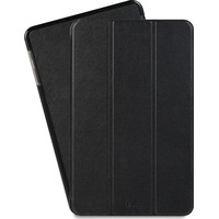 Azuri Ultra thin bookstyle case - zwart - voor Galaxy Tab A E-book reader case
