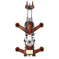 Propel : Star Wars 74-Z Speeder Bike - Zwart, Bruin, Grijs, Wit