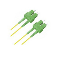 Microconnect fiber optic kabel: 10m SC/APC-SC/APC