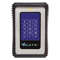 DataLocker DL3 FE - Zwart, Roestvrijstaal