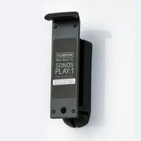 Flexson Wall mount for SONOS PLAY:1, Single, Black Speakersteun - Zwart