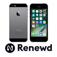 Renewd smartphone: Apple iPhone 5S refurbished - 64GB Spacegrijs - Zwart, Grijs (Refurbished AN)