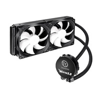 Thermaltake water & freon koeling: Water 3.0 Extreme S - Zwart, Wit
