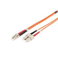 Digitus fiber optic kabel: LC/SC, 10 m