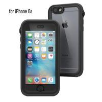 Catalyst mobile phone case: Waterproof case for Apple iPhone 6/6S, black - Zwart, Transparant