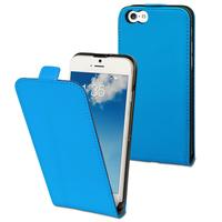 Muvit mobile phone case: Slim Case for Apple iPhone 6 - Smooth blue - Blauw