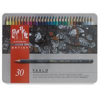 Caran d-Ache potlood: Pablo 30 - Grijs, Multi kleuren