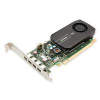 DELL NVIDIA Quadro NVS 510, 2GB, DDR3, 4 mini-DisplayPort, PCI Express 3.0 x16, OpenGL, DirectX videokaart