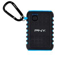 PNY The Outdoor Charger - Zwart, Blauw