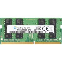 HP RAM-geheugen: 8-GB DDR4-2400 SoDIMM - Zwart, Groen