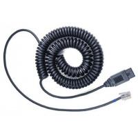 VXi telefoon kabel: QD 1029G - Zwart