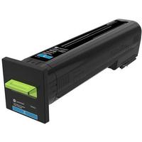Lexmark toner: Cyan, 13000 pages - Cyaan