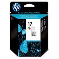 HP inktcartridge: 17 originele drie-kleuren inktcartridge - Cyaan, Magenta, Geel