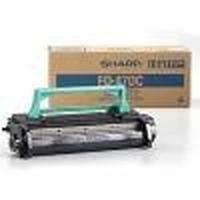 Sharp cartridge: Toner FO 47 DC  - Zwart