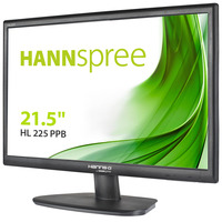 Hannspree Hanns.G HL 225 PPB Monitor - Zwart