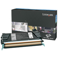 Lexmark cartridge: Toner E462, Zwart