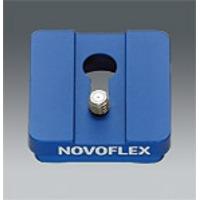 """Novoflex statief accessoire: Standard-Klemmplatte mit 1/4"""" Gewinde"""