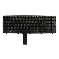 HP notebook reserve-onderdeel: Keyboard English (UK) - Zwart