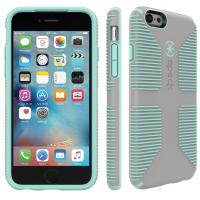 Speck Speck iPhone 6/6s CandyShell Grip (Sand Grey / Aloe Green) (73425-5362)