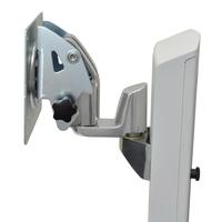 Ergotron montagekit: Pan Pivot Kit for SV LCD Cart - Aluminium