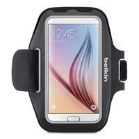 Armband voor smartphone Galaxy S5 S6 S6E S7 zwart