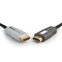WyreStorm 18Gbps, Active, Optical, 10m HDMI kabel - Zwart,Wit