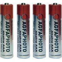 AgfaPhoto batterij: LR03 - Grijs, Rood