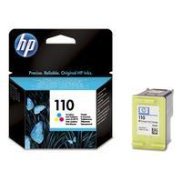 HP inktcartridge: 110 originele drie-kleuren inktcartridge - Cyaan, Magenta, Geel